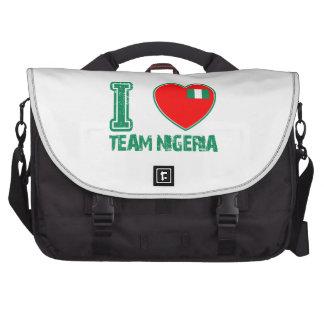 Nigerian sport designs laptop bag