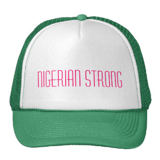 Nigerian Strong Ladies Trucker Hat