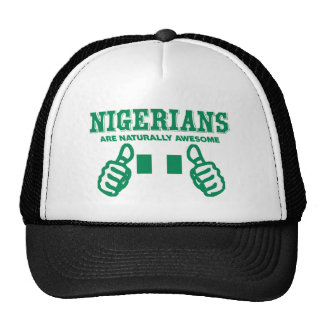 Nigerians are naturally awesome trucker hat