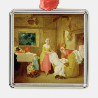 Night, 1799 (oil on canvas) (see 127218-220) christmas ornament