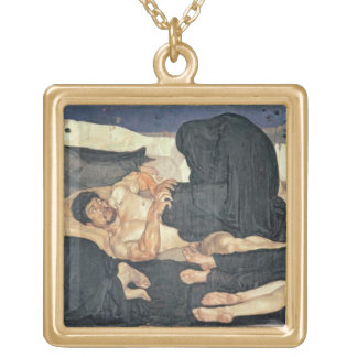 Night 1890 oil on canvas necklace