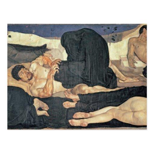Night, 1890 (oil on canvas) postcards