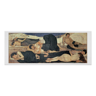Night 1890 oil on canvas poster
