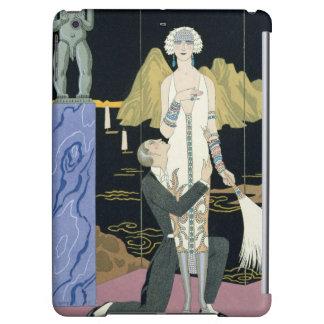Night, 1925 (pochoir print) iPad air covers