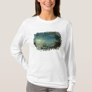 Night: A Port in the Moonlight, 1748 T-Shirt