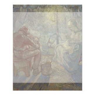 Night after Millet by Vincent Van Gogh 11.5 Cm X 14 Cm Flyer