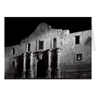 Night at the Alamo Card