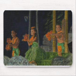 Night at the Luau Mousepad