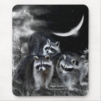 Night Bandits Art Mousepad