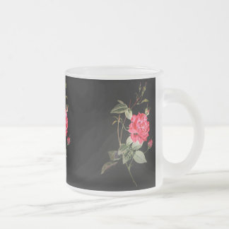 Night Bloom Frosted Glass Mug
