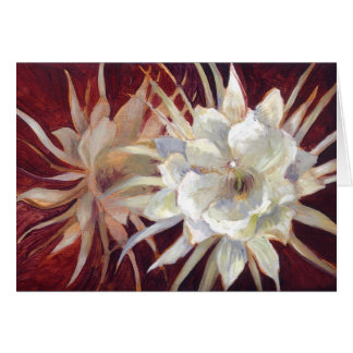 Night-Blooming Cereus Greeting Card