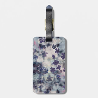Night Blossom Luggage Tag
