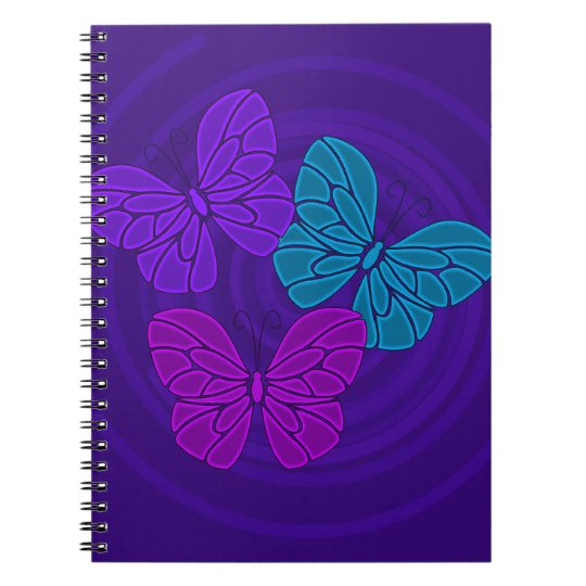 Night butterflies Notebook