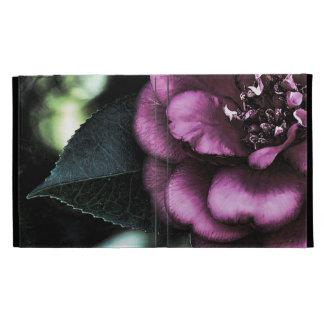 Night Camellia iPad Cases