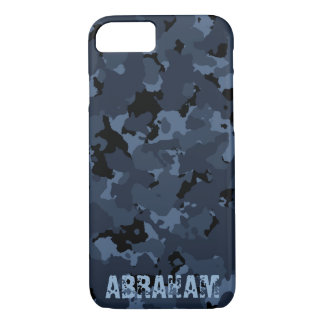Night Camo Name Template iPhone 8/7 Case