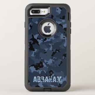 Night Camo Name Template OtterBox Defender iPhone 8 Plus/7 Plus Case