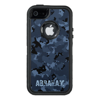 Night Camo Name Template OtterBox iPhone 5/5s/SE Case