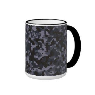 Night Camo Ringer Mug
