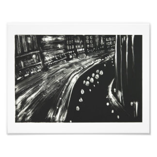 Night Canal Photo Print