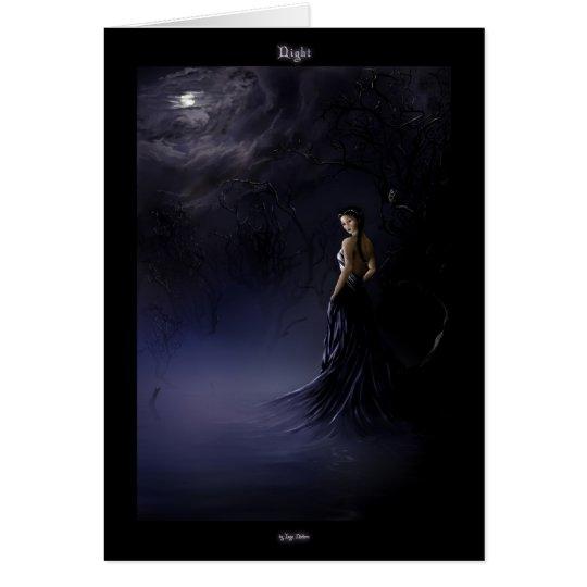 Night - Card