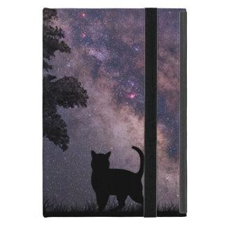 Night Cat Covers For iPad Mini