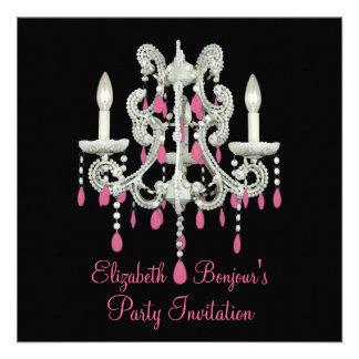 Night Chandelier Invitations