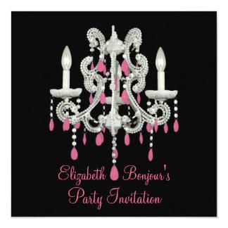Night Chandelier ~ Invitations