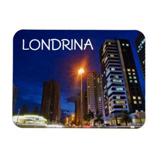 Night City Londrina Rectangular Photo Magnet
