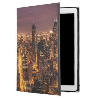 "Night cityscape of Chicago iPad Pro 12.9"" Case"