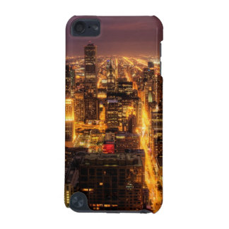 Night cityscape of Chicago iPod Touch 5G Case