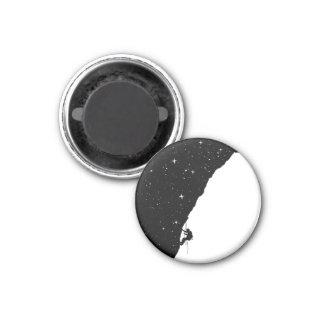 Night climbing 3 cm round magnet
