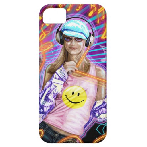 NIGHT CLUB GIRL COVER FOR iPhone 5/5S