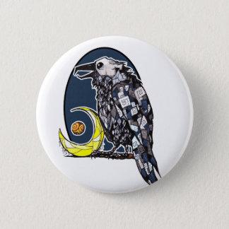 Night Crow Button