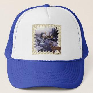 Night Deer Trucker Hat