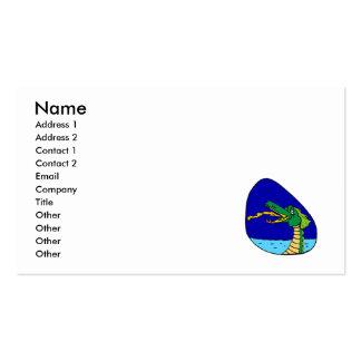 night dragon business card templates