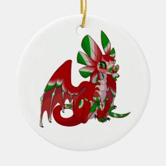 Night Dragon Christmas Ornament