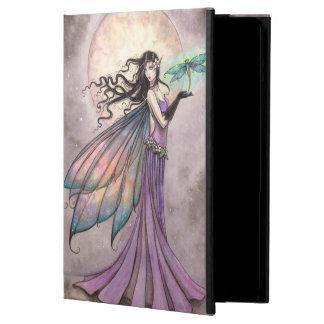 Night Dragonfly Fairy Fantasy Art iPad Air Cover