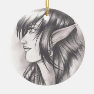 Night Elf.jpeg Christmas Ornament