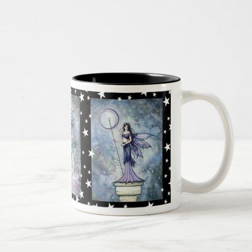 Night Fairies Trio Coffee Mug by Molly Harrison