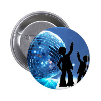Night Fever 6 Cm Round Badge
