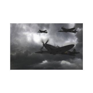 Night Fighter Canvas Print