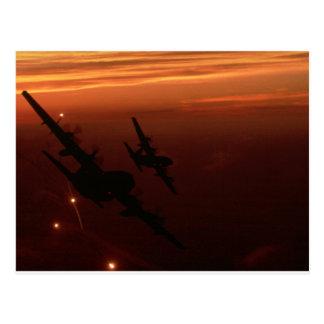 Night Flight Postcard