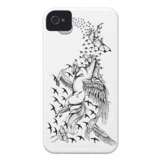 Night Flight Unicorn & Bird Blackberry Bold Case