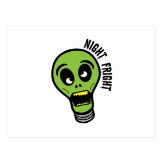 Night Fright Postcard