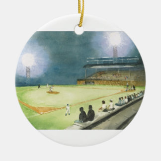 NIGHT GAME AT RIEGEL  ORNAMENT
