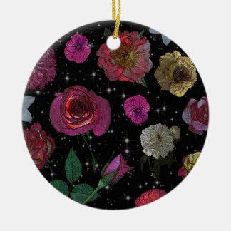 Night Garden Circle Ornament