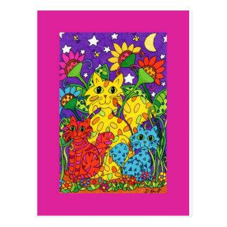 Night Garden Postcard