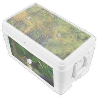 Night Heron Birds, 48 Quart Duo Deco Cooler