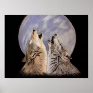 Night Howls Print