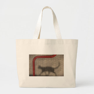 Night. Illusion of freedom Large Tote Bag